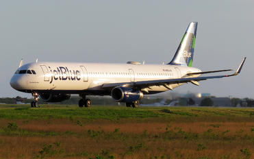 N954JB - JetBlue Airways Airbus A321