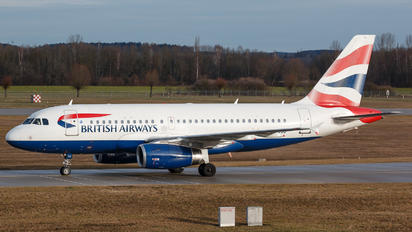 G-EUOD - British Airways Airbus A319