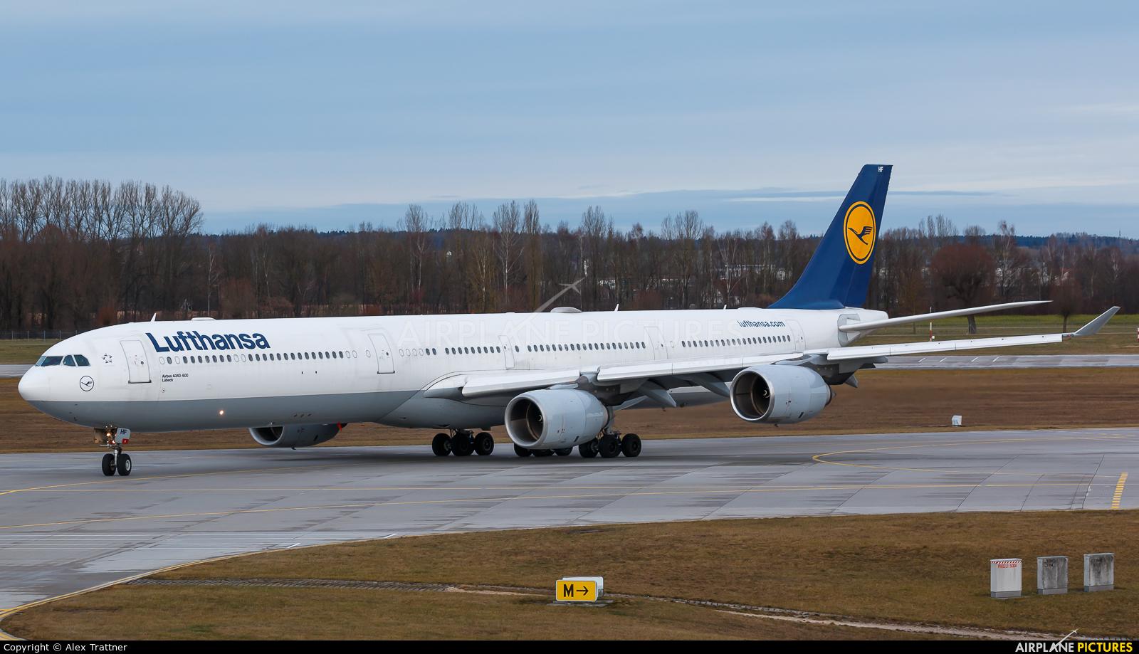 Lufthansa D-AIHF aircraft at Munich