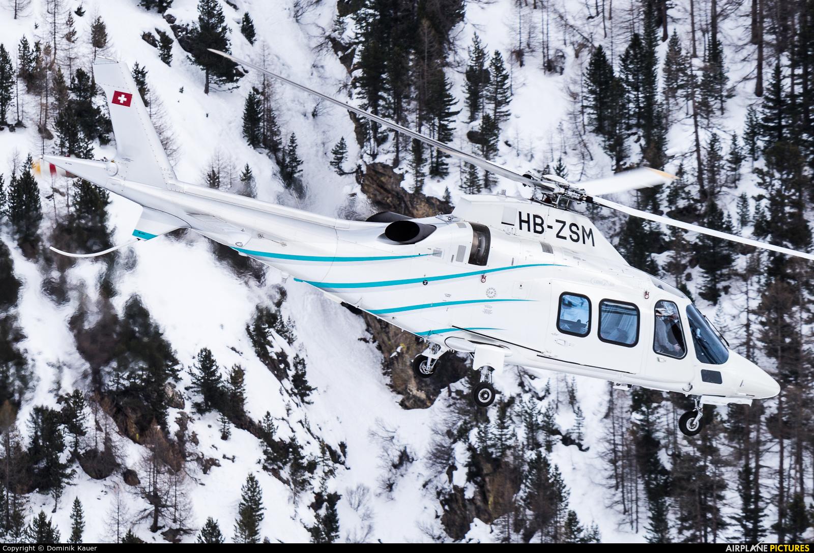 Private HB-ZSM aircraft at Samedan - Engadin