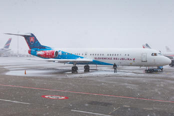 OM-BYC - Slovakia - Government Fokker 100