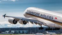 9V-SKG - Singapore Airlines Airbus A380 aircraft