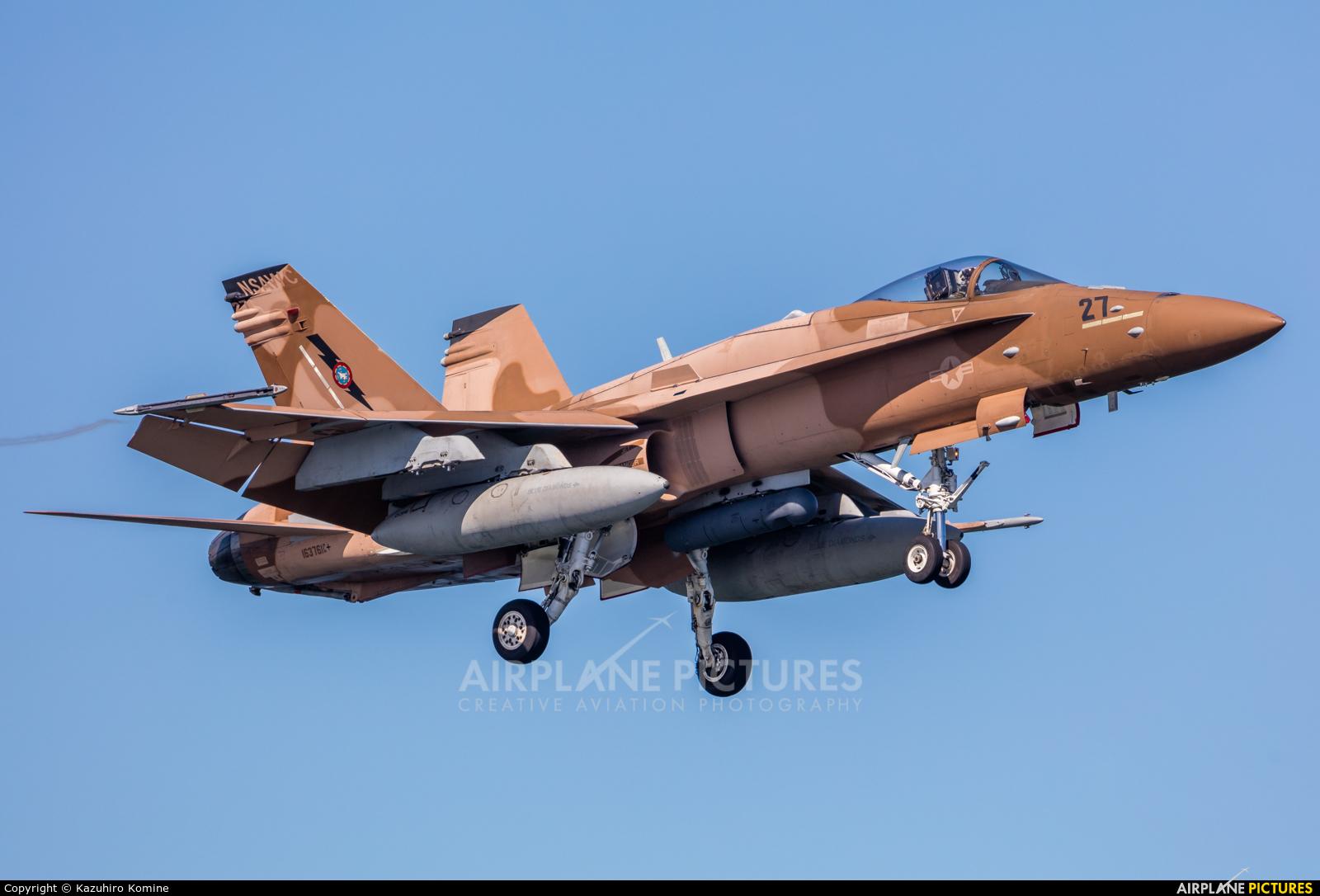 USA - Navy 163761 aircraft at Iwakuni MCAS