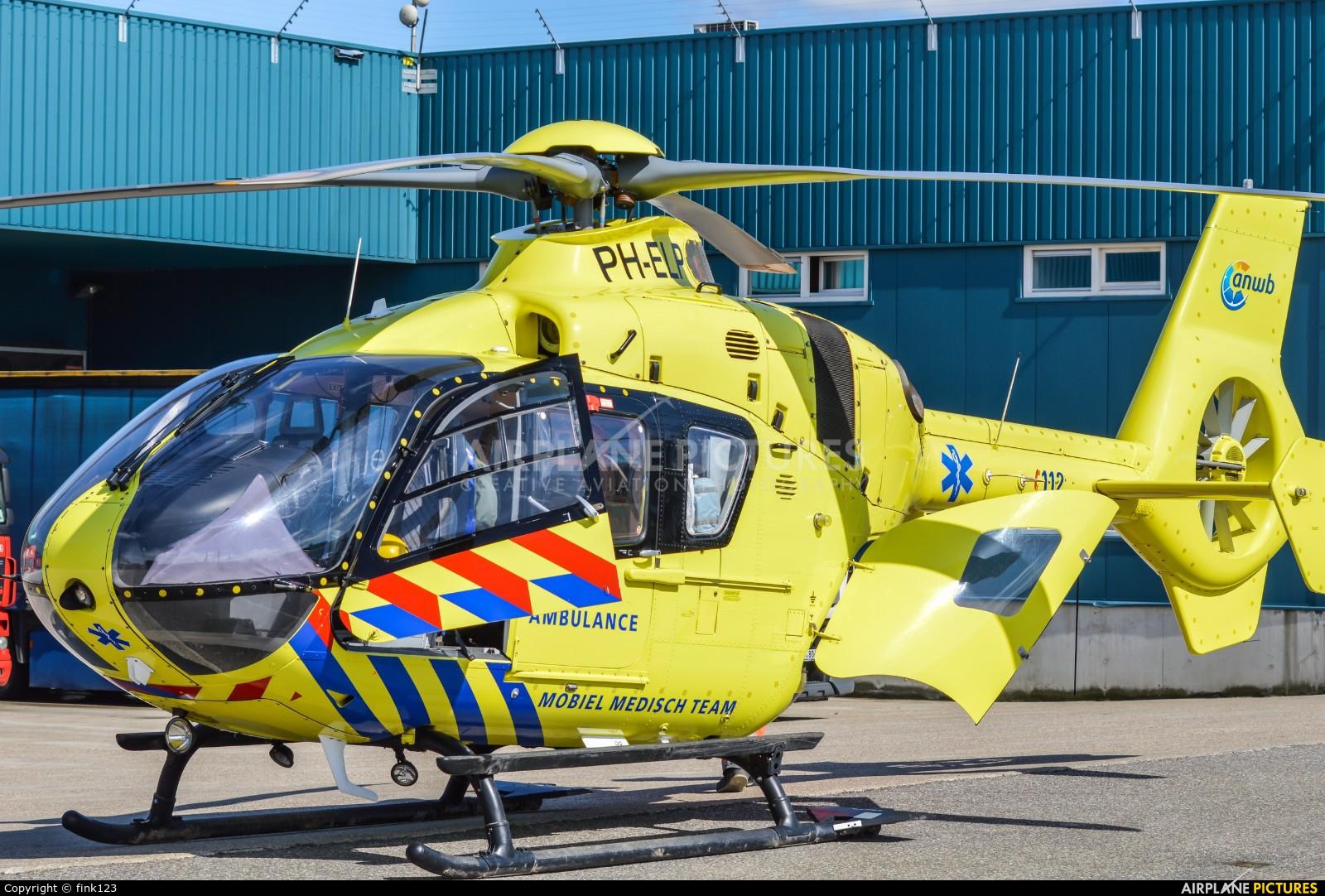ANWB Medical Air Assistance PH-ELP aircraft at