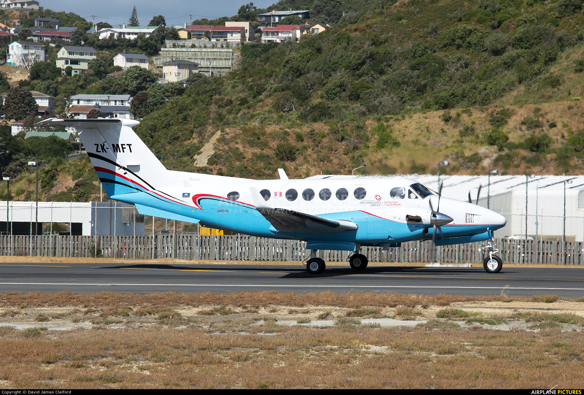 Skyline Aviation ZK-MFT aircraft at Wellington Intl