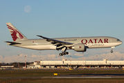 A7-BFH - Qatar Airways Cargo Boeing 777F aircraft