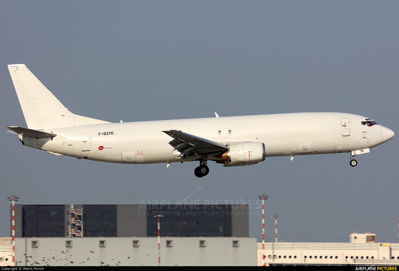 ASL Airlines F-GZTK aircraft at Milan - Malpensa