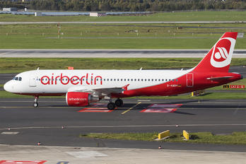 D-ABDK - Air Berlin Airbus A320