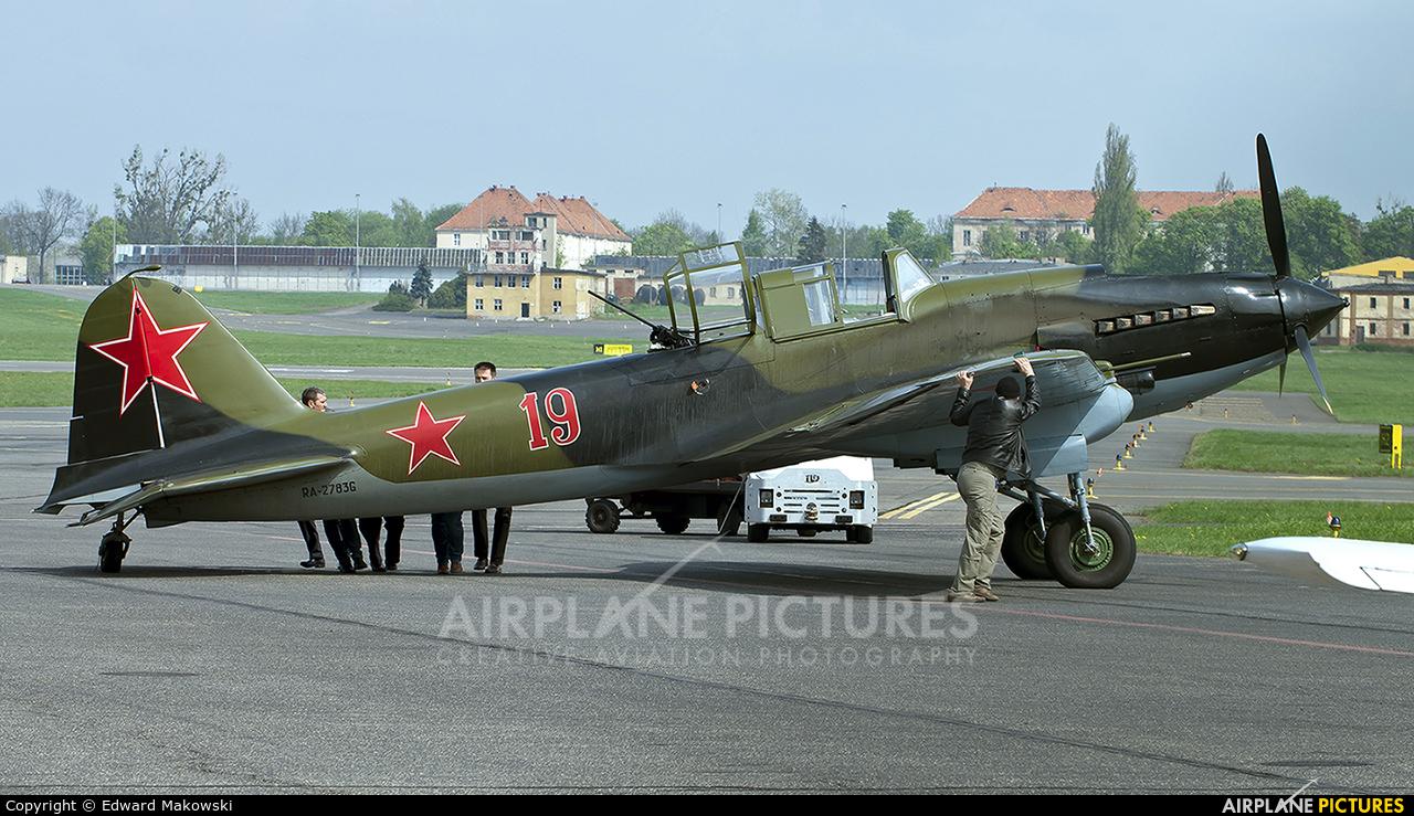 Private RA-2783G aircraft at Poznań - Ławica