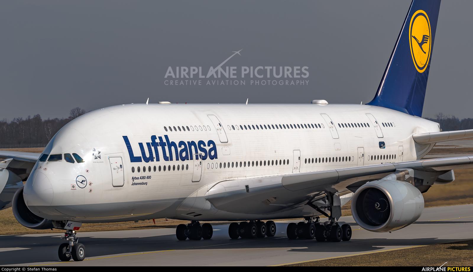 Lufthansa D-AIME aircraft at Munich