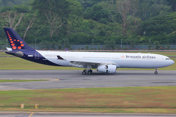 9V-STF - Brussels Airlines Airbus A330-300
