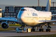 D-ABVP - Lufthansa Boeing 747-400 aircraft