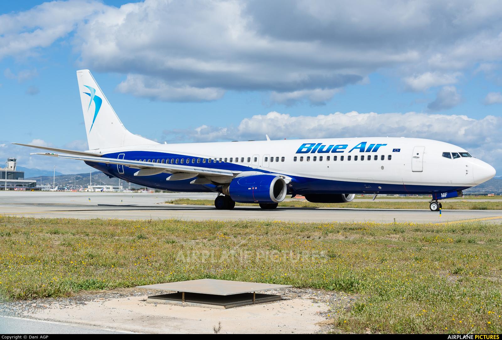 Blue Air YR-BMF aircraft at Málaga