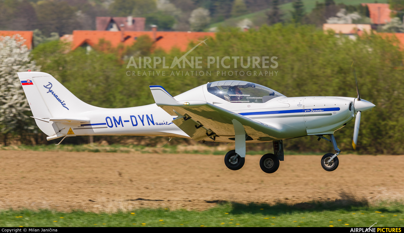 Private OM-DYN aircraft at Prievidza