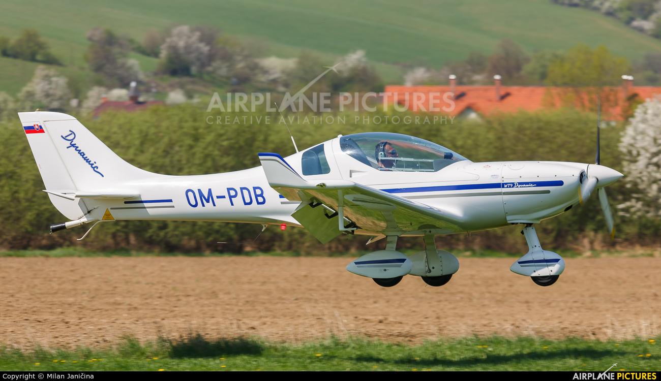Aeroklub Prievidza OM-PDB aircraft at Prievidza