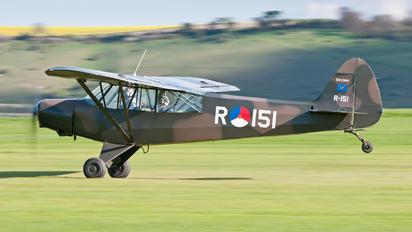 G-BIYR - Private Piper L-21 Super Cub