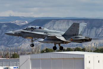 CE.15-07 - Spain - Air Force McDonnell Douglas EF-18B Hornet