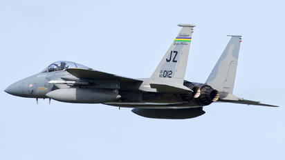 83-0012 - USA - Air National Guard McDonnell Douglas F-15C Eagle