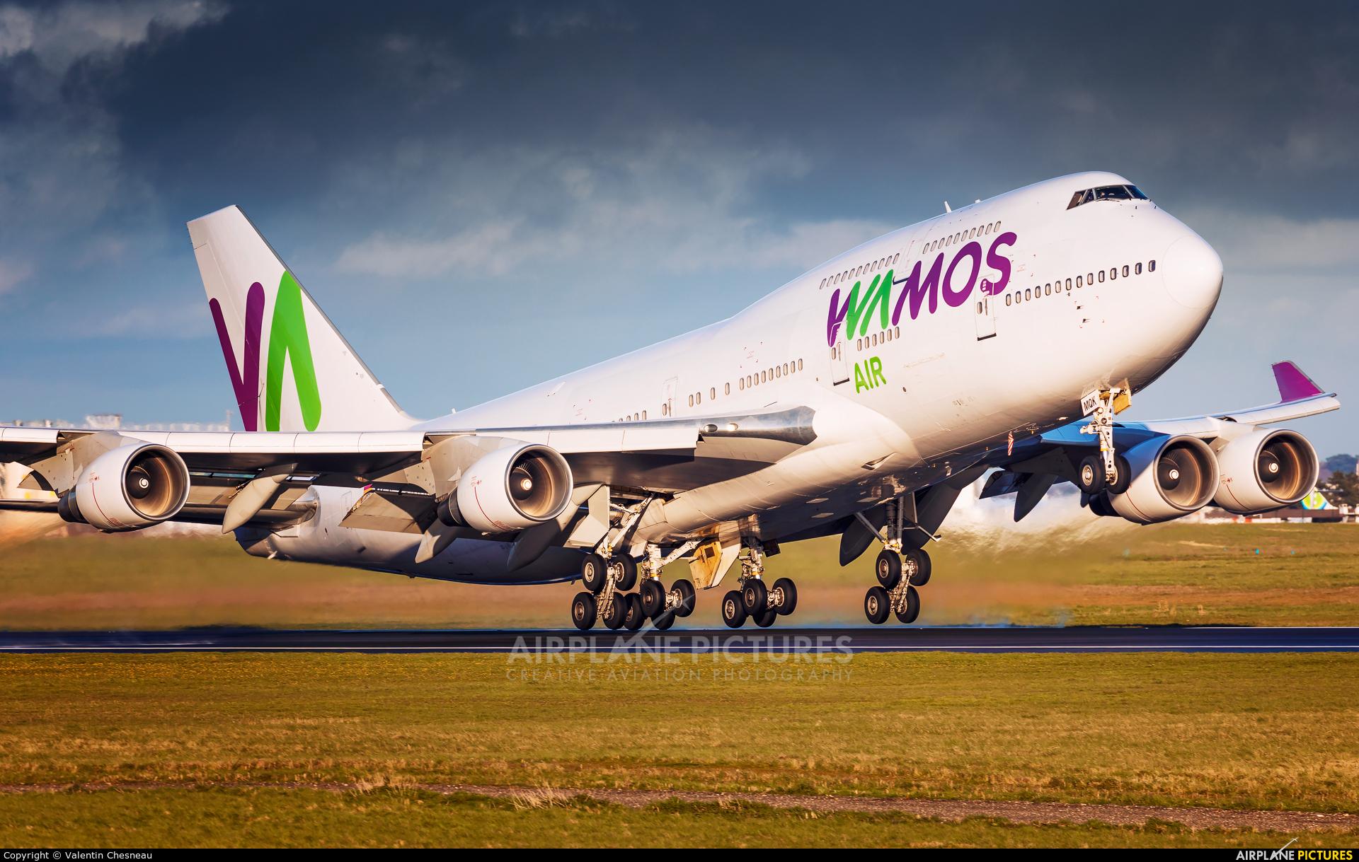 Wamos Air EC-MQK aircraft at Paris - Orly