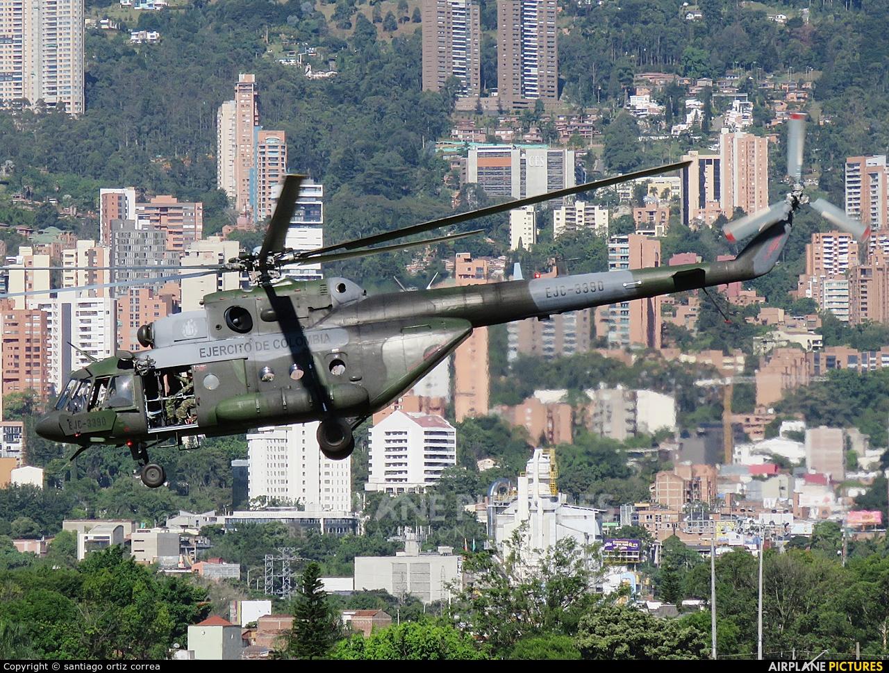 Colombia - Army EJC-3390 aircraft at Medellin - Olaya Herrera