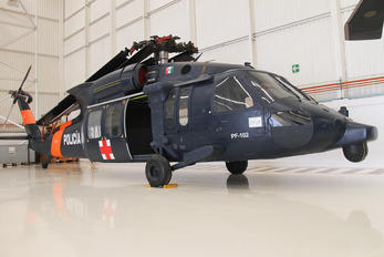 PF-102 - Mexico - Police Sikorsky UH-60L Black Hawk