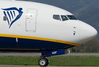 EI-GDF - Ryan Air Boeing 737-800