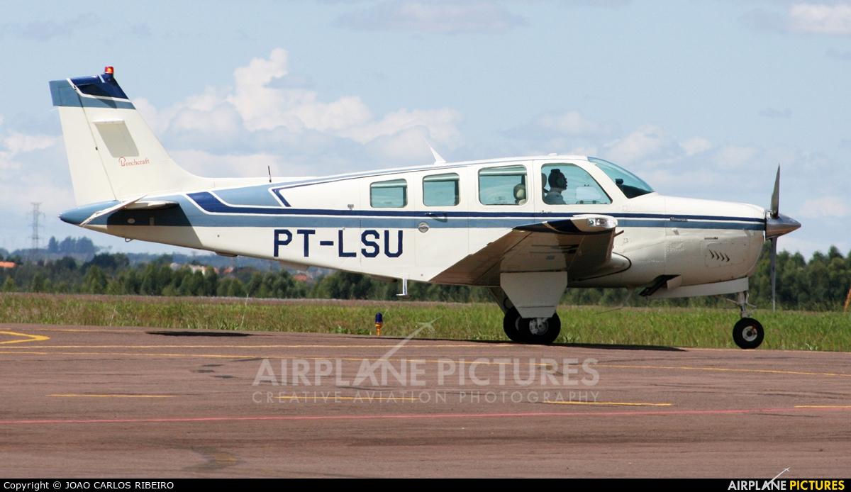 Private PT-LSU aircraft at Municipal Airport Cascavel