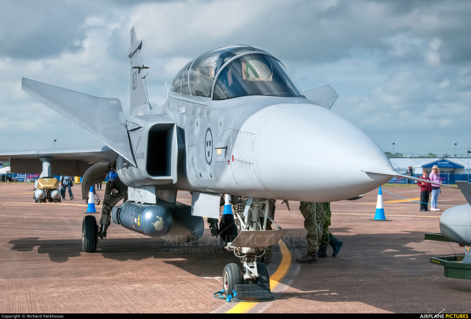 Sweden - Air Force 821 aircraft at Fairford
