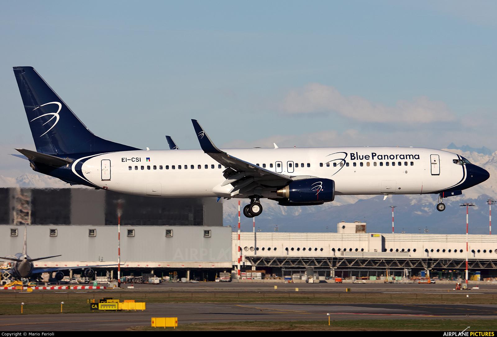 Blue Panorama Airlines EI-CSI aircraft at Milan - Malpensa
