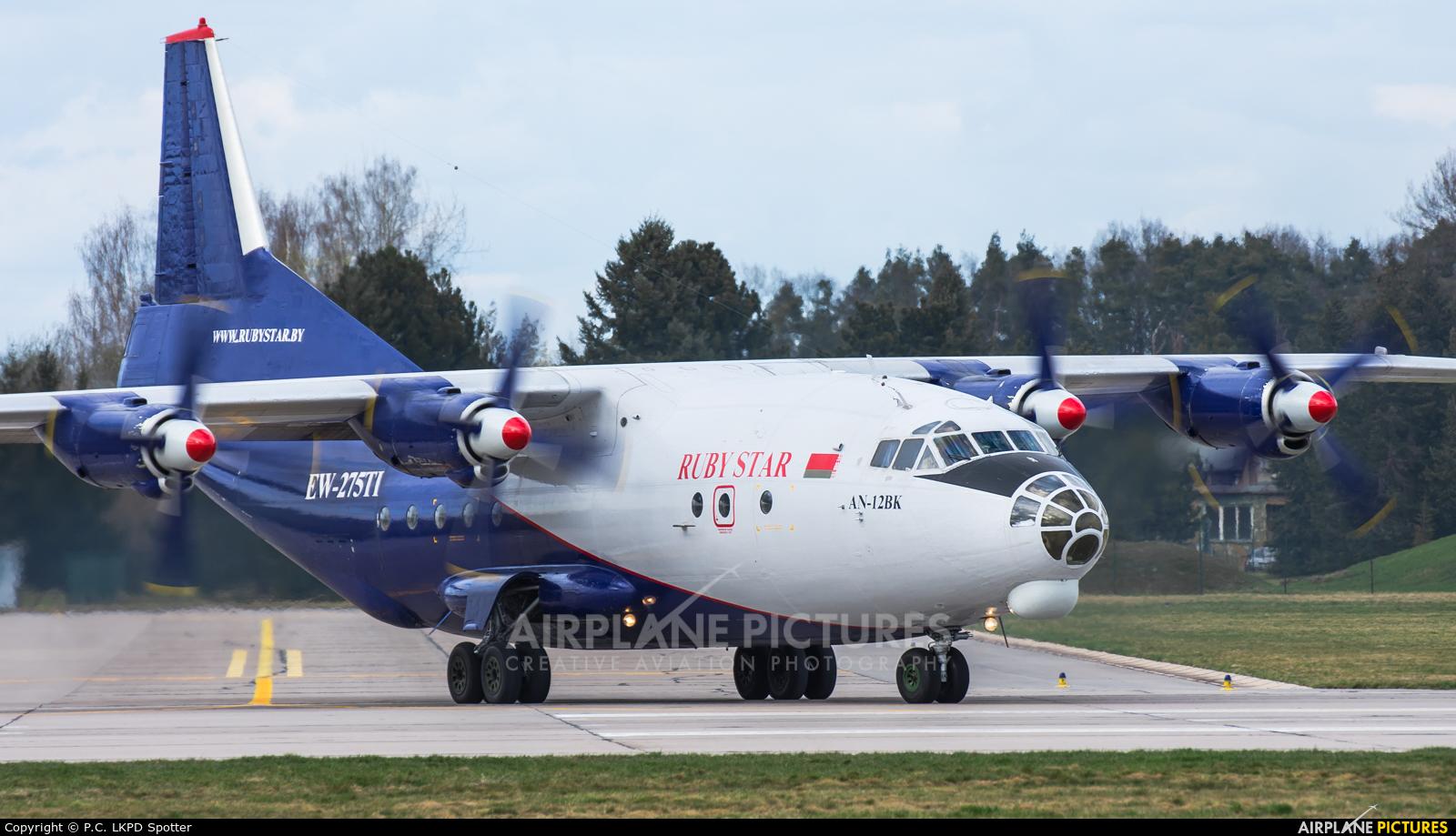 Ruby Star Air Enterprise EW-275TI aircraft at Pardubice