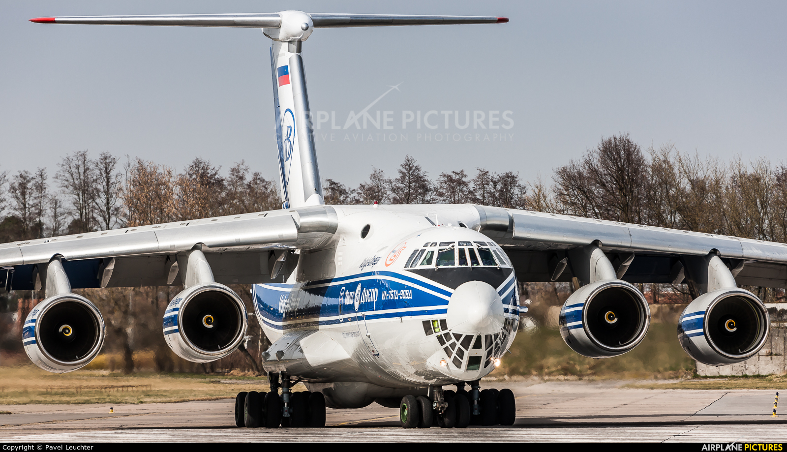 Volga Dnepr Airlines RA-76951 aircraft at Pardubice