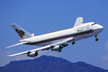 HS-TGS - Thai Airways Boeing 747-200