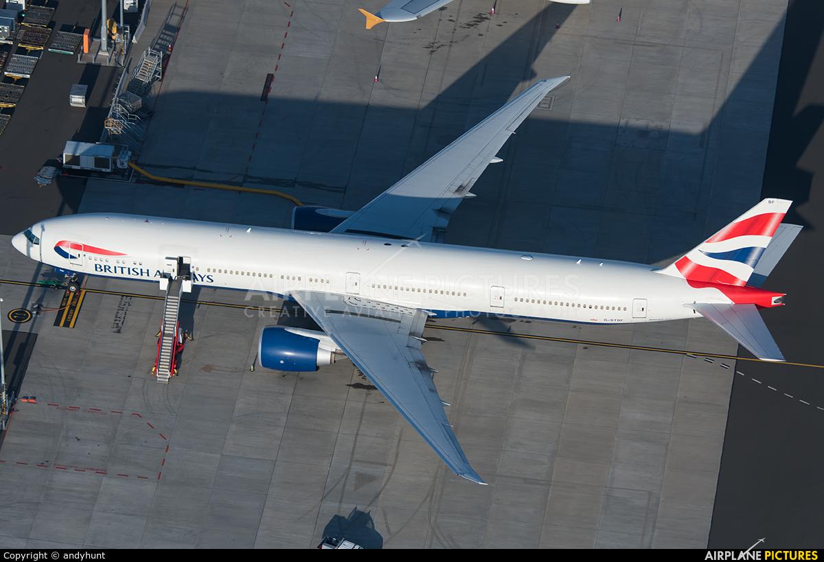 British Airways G-STBF aircraft at Sydney - Kingsford Smith Intl, NSW
