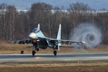 RF-92214 - Russia - Air Force Sukhoi Su-30SM