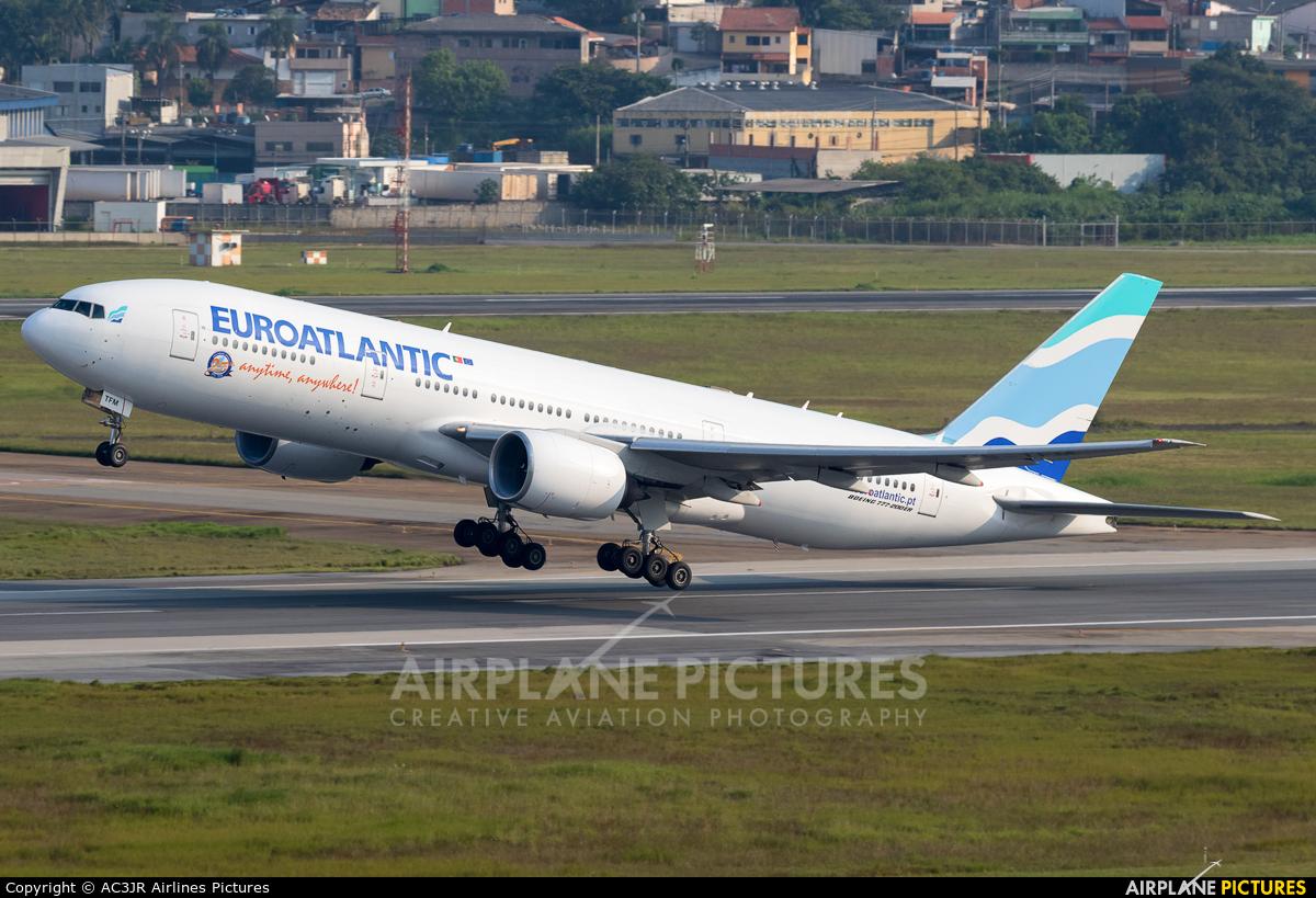 Euro Atlantic Airways CS-TFM aircraft at São Paulo - Guarulhos
