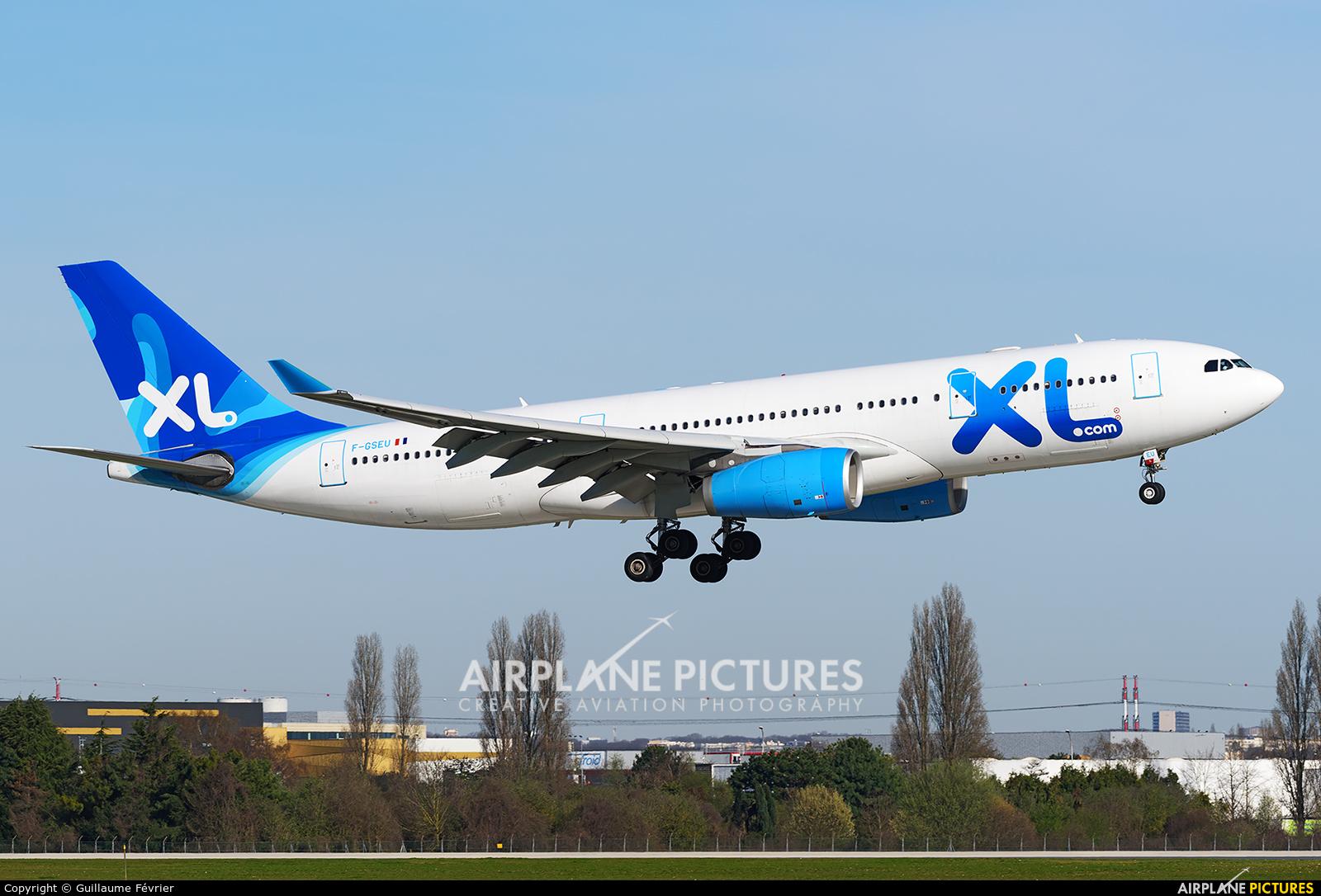 XL Airways France F-GSEU aircraft at Paris - Orly