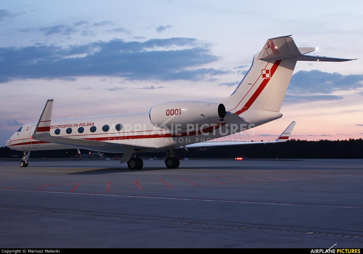 Poland - Air Force 0001 aircraft at Olsztyn Mazury Airport (Szymany)