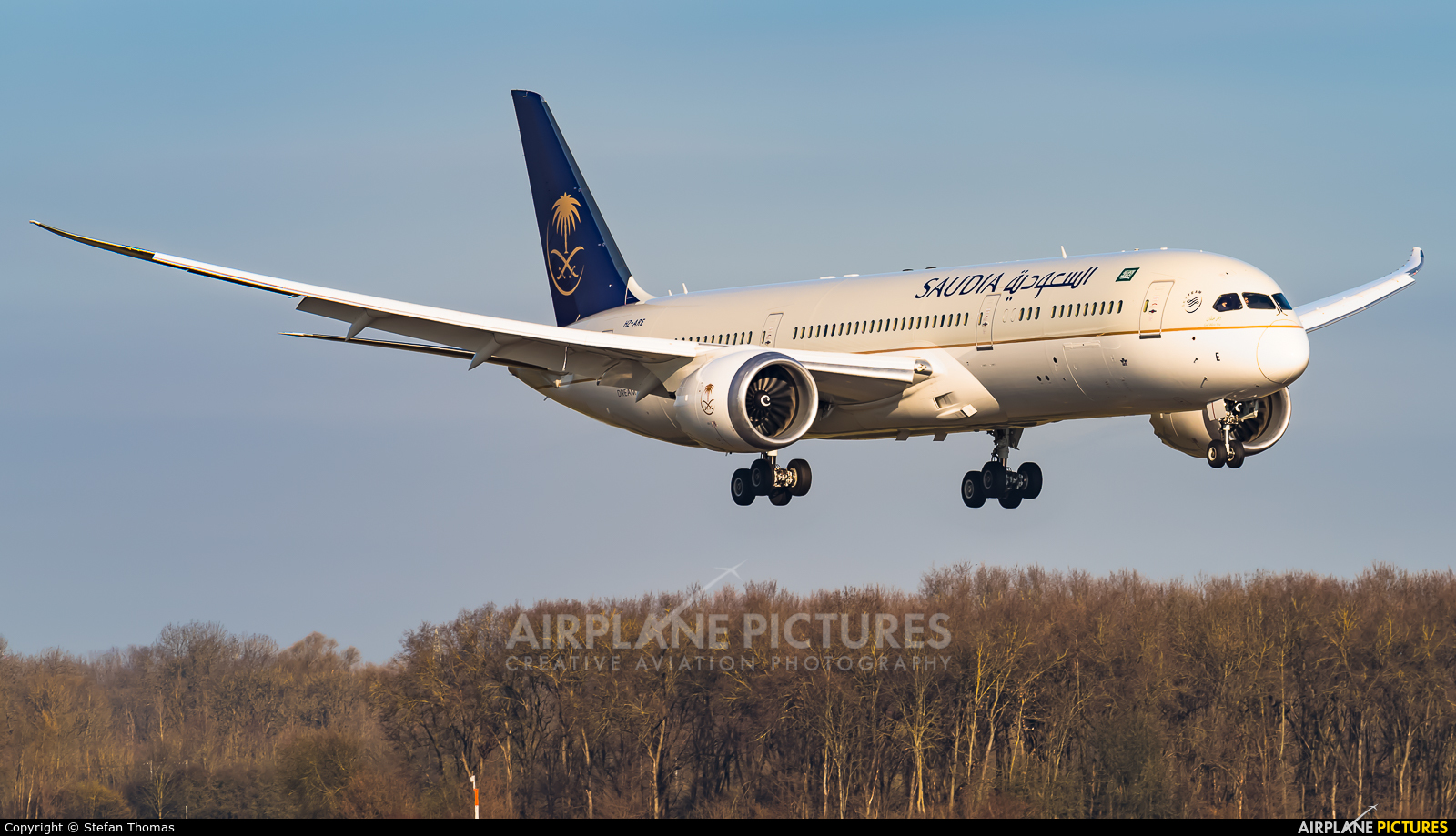 Saudi Arabian Airlines HZ-ARE aircraft at Munich