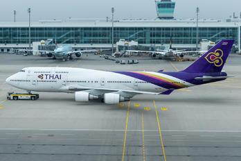 HS-TGF - Thai Airways Boeing 747-400