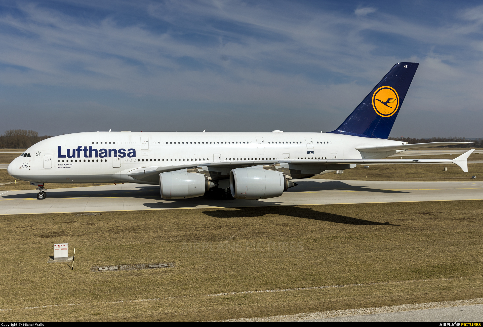 Lufthansa D-AIME aircraft at Munich