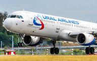 VQ-BOB - Ural Airlines Airbus A321 aircraft