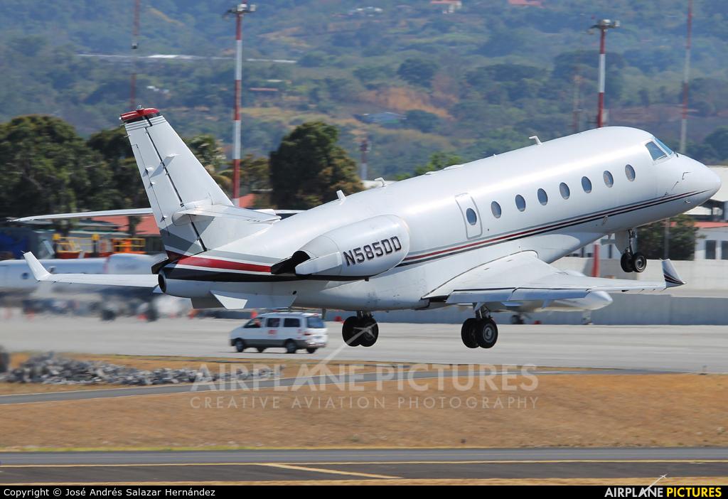 Private N585DD aircraft at San Jose - Juan Santamaría Intl