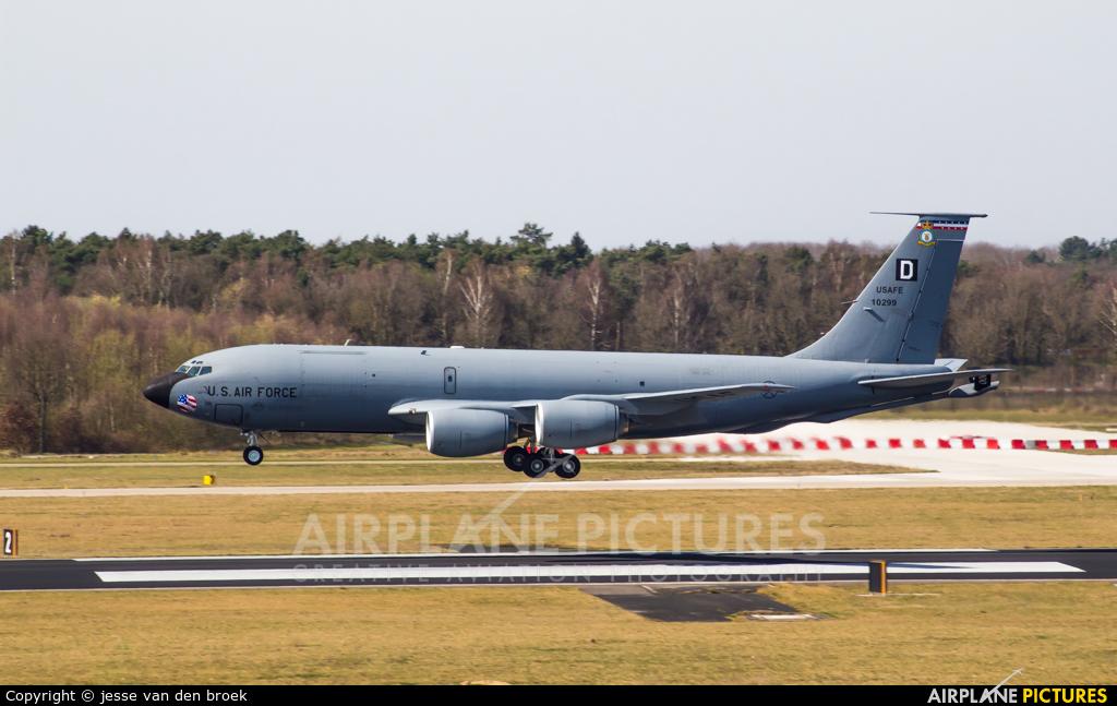 USA - Air Force 61-0299 aircraft at Eindhoven