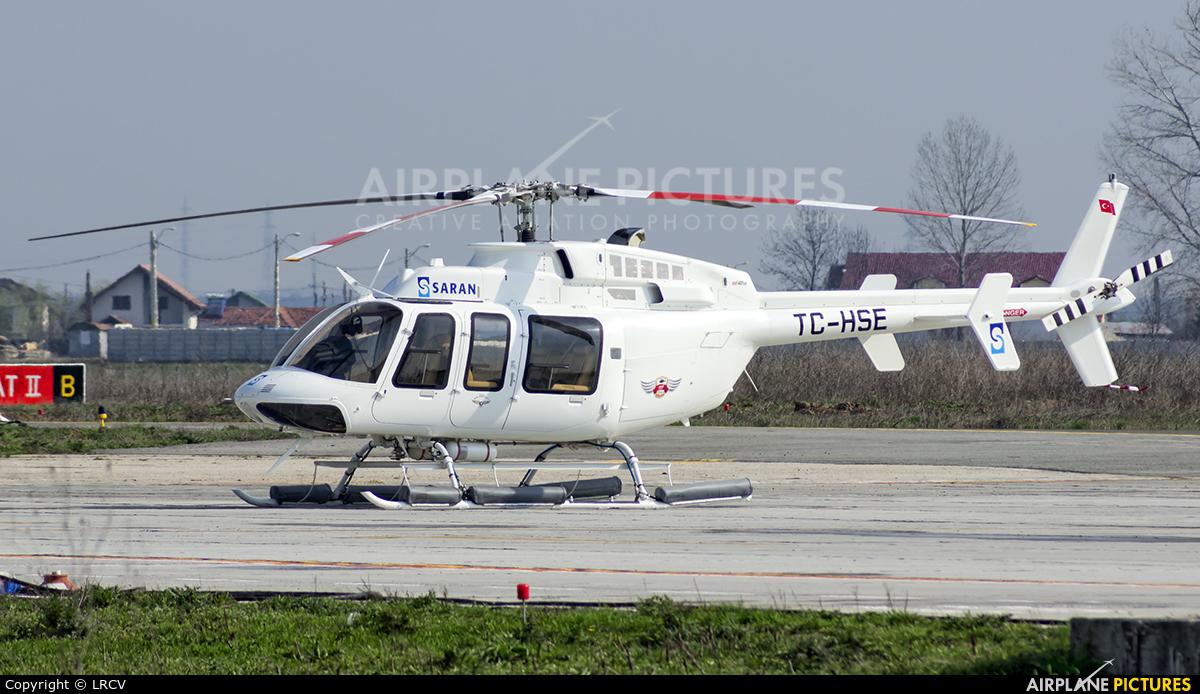 Private TC-HSE aircraft at Craiova