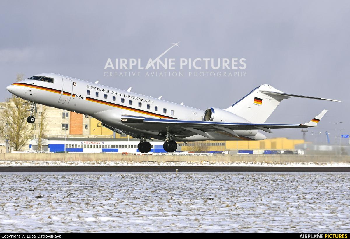 Germany - Air Force 14+03 aircraft at Tallinn