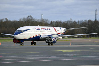 5N-BUJ - Air Peace Boeing 737-500