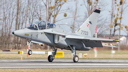 7703 - Poland - Air Force Leonardo- Finmeccanica M-346 Master/ Lavi/ Bielik