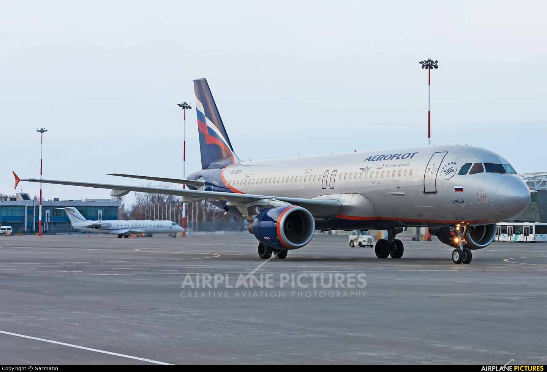 Aeroflot VQ-BEH aircraft at Kazan