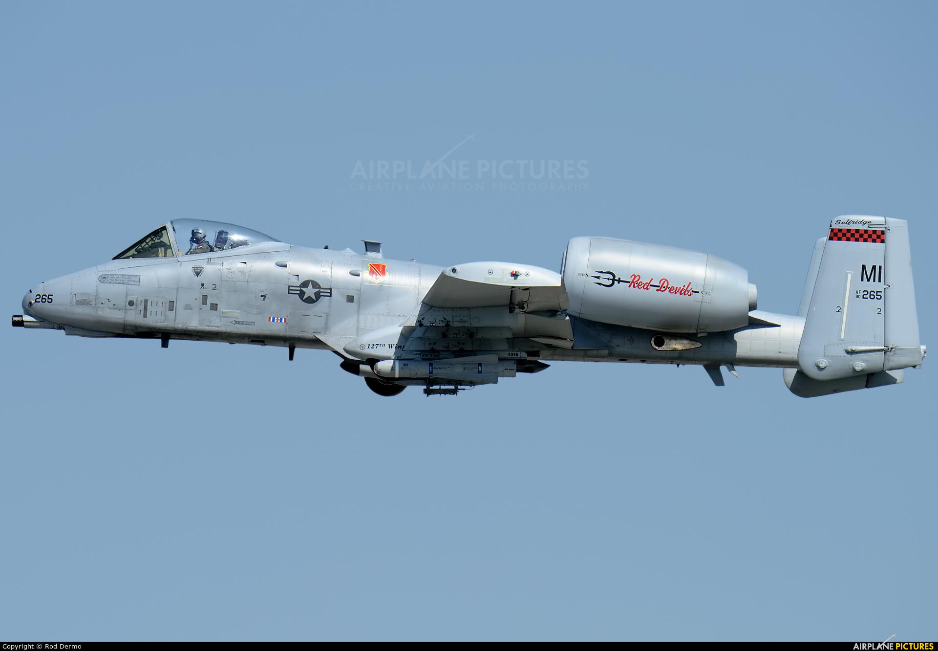 USA - Air Force 80-0265 aircraft at London  Intl, ON