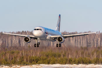 VP-BTZ - Ural Airlines Airbus A320